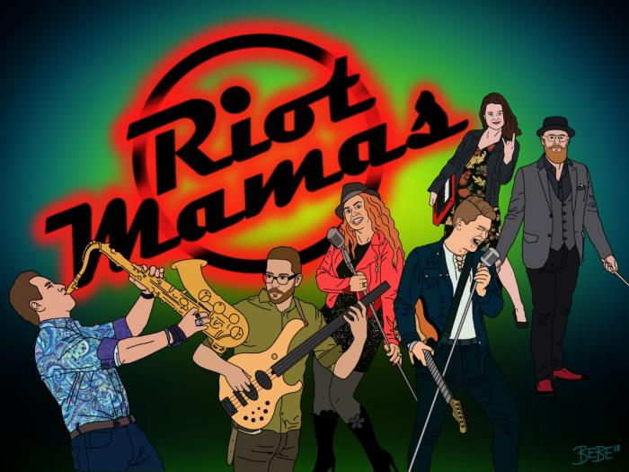 Kuva Riot Mamas