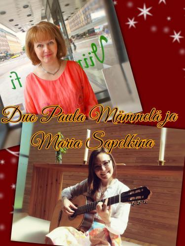 Kuva Duo Maria & Paula( kitara,laulu)